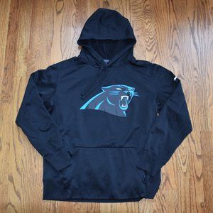 Nike Carolina Panthers Hooded Sweatshirt, size L